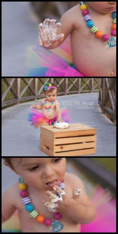 Miss Mia celebrates her first birthday in pretty rainbow tutu style with Tampa Photographer DigitalMyst Photography. Tutu baby first birthday ideas. Princess photo shoot. First birthday photo session. Photography for birthday. Photos for 1st birthday. 1st birthday smash cake.  Smash cake ideas.  Smash cake photography.  Princess tutu birthday poses. Girly party. Birthday girl posing. Toddler girl birthday ideas. Toddler photography ideas. For more ideas, visit www.digitalmystphotography.com