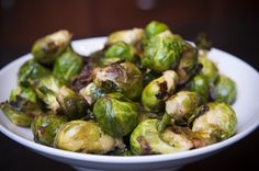 lemon garlic brussles sprouts  Made these last night and they were awesome! ~tsg