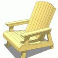 Free Plans To Help You Build An Adirondack Chair