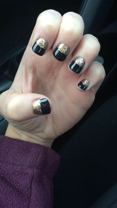 New Years nails #newyears #nails