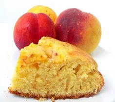 Thermomix Recipes: Peach Yogurt Cake with Thermomix