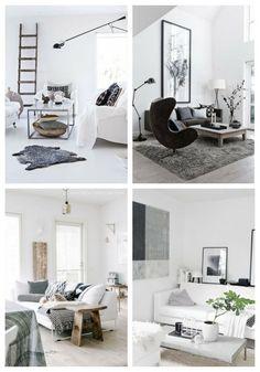 main Cozy Scandinavian Living Room Designs