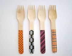 Biodegradable Eco Friendly Compostable Wooden Spoons Knives Forks