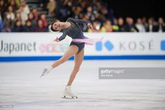 News Photo : Russia Evgenia Medvedeva in action during Women's...