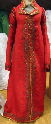 Coat belonging to Queen Josefina, Collection of the Royal Armoury, Sweden 1800s Fashion, 19th Century Fashion, Vintage Fashion, Antique Clothing, Historical Clothing, Historical Dress, Female Clothing, Vintage Gowns, Vintage Outfits