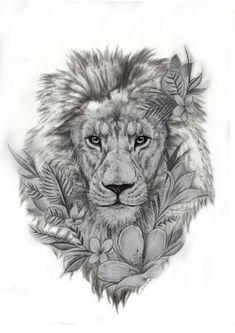 Lion - Tattoo Löwe - Tattoo Designs for Women Lion Forearm Tattoos, Lion Head Tattoos, Leo Tattoos, Dream Tattoos, Future Tattoos, Animal Tattoos, Body Art Tattoos, Sleeve Tattoos, Tattos