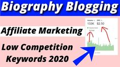 In today's video, I have told you about bBiography and Amazon Affiliate Marketing Low Competition Keywords2020 and together I also researched you keywords so that you can use your blogging website to bring traffic to friends.#biography_keywords #amazon_affiliate_keywords #keywordresearchking #Micro_niche_keywords #keywords_research #low_competition_keywords Amazon Affiliate Marketing, Research, Biography, Competition, Blogging, Told You So, Website, Friends, Search