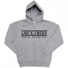 Law & Order SVU Zip Hoodie