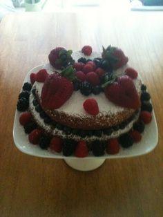Simple Honey Birthday Cake Recipe