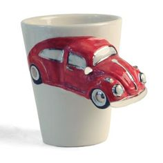 VW Beetle Handle Coffee Mug