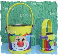 Leskka - Arte eva Kids Crafts, Clown Crafts, Foam Crafts, Diy And Crafts, Arts And Crafts, Clown Party, Circus Party, Carnival Birthday Parties, Circus Birthday