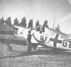 French Dewoitine D 520 captured