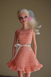 Free Crochet Doll Patterns Inspirational Best Crochet Barbie Doll Clothes Amp Misc Images On Of Free Crochet Doll Patterns Crochet Barbie Patterns, Crochet Doll Dress, Barbie Clothes Patterns, Crochet Barbie Clothes, Crochet Doll Pattern, Knitted Dolls, Clothing Patterns, Doll Patterns, Crochet Dresses