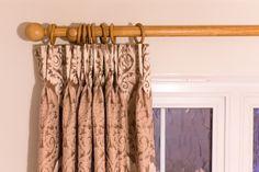 Wooden Poles, Velvet Curtains, Blinds, Bedroom, Gallery, Brown, Home Decor, Decoration Home, Roof Rack
