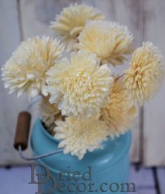 Great ideas for using Sola Wood Flowers for Wedding Bouquets and centerpieces.