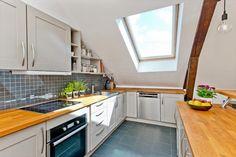 Wooden kitchen top