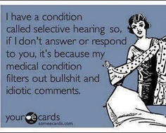 It's a medical condition