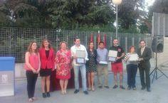 Entrega de premios de la 1ª Ruta de la tapa de Barajas (junio 2014) @Pymeba #1rutatapabarajas