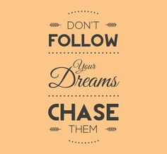 Chase your dreams with this imaginative vinyl design, only found at Home Decals. Designed specifically with families and loved ones in mind, we believe the key to happiness is to chase your dreams. We can't give you a map but at least this vinyl will motivate you to make one.