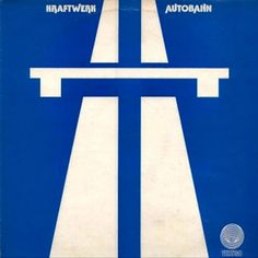 Kraftwerk 'Autobahn' LP. This version released in the UK on the Vertigo label in 1974 had a differently designed cover, produced by the label's in-house marketing department.