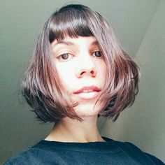 Shortbob with bangs shortbob franjinha cabelo curto