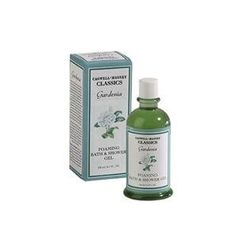 Gardenia Foaming Bath & Shower Gel by Caswell-Massey. $18.00. Not tested on animals. Boxed. 8.5 oz. bottle. Made in the USA. The luxurious bubbly lather of our Gardenia Bath & Shower Gel moisturizes as it cleanses, leaving your body smoothe, protected and softly scented.