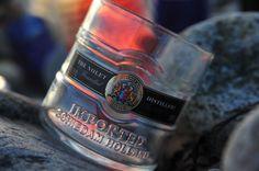 Upcycled Ketel One Vodka Rocks Glass by OutsideTheBottle on Etsy, $15.00