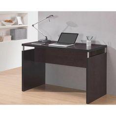 Techni Mobili Modern Desk, Espresso