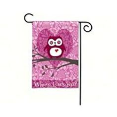 BreezArt Who Loves You? Garden Flag 31022