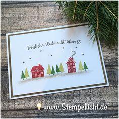 Stempellicht: Weihnachten daheim - Weihnachtskarten