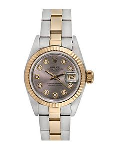 Rolex Women's 1980s Datejust Diamond Watch