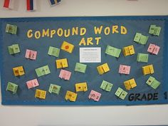 compound words Chalk Talk, Jolly Phonics, Compound Words, Spelling Activities, Word Sorts, Kindergarten Fun, 2nd Grade Reading, Rhyming Words, Word Study
