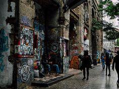 Berlin (R Kanrola) Tags: street city streets berlin art film club night vintage germany photography graffiti cam hipster alemania society tacheles okupa vsco vscofilm vscocam