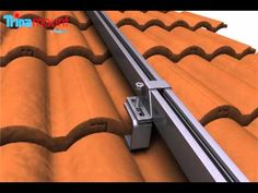 how to install solar panels on tiled roof - Google Search