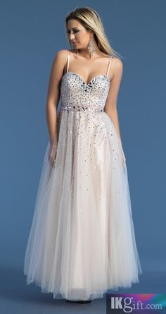 Sheath Sweetheart Tulle with Beading and Sequins Prom Dress - Prom Dresses  - Wedding   Events 85503d237
