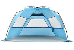 View the excellent Pacific Breeze Easy Up Beach Tent Deluxe XL here at beachaccessoriesstore. Now available to purchase at a great price for a short time only - don't pass it by! Buy Pacific Breeze Easy Up Beach Tent Deluxe XL securely here now. Family Camping, Tent Camping, Camping Hacks, Outdoor Camping, Glamping, Pop Up Beach Tent, Pop Up Tent, Beach Fun, Outdoor Gadgets