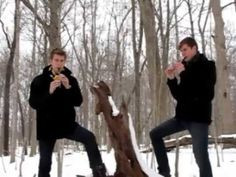 ▶ Epic Tin Whistle Bros - YouTube - very intersting mix of music and testosterone :D