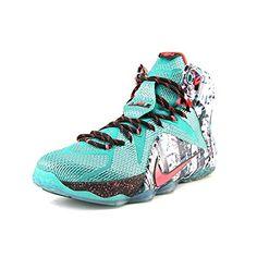 d64ff6b25804 Nike LeBron 12 Men US 14 Green Basketball Shoe Green Basketball Shoes