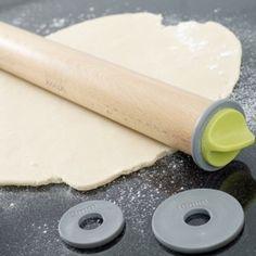 rouleau à pâtisserie avec contrôle de l'épaisseur de la pâte !