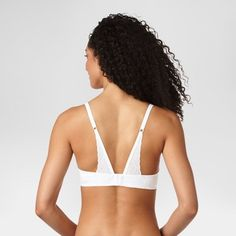 Warner's Simply Perfect Women's Supersoft with Lace Back Underwire Bra - White 36C
