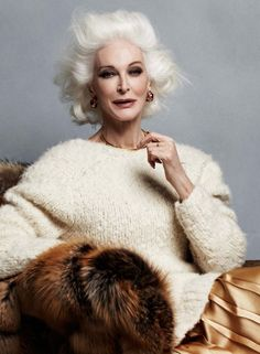 tinamotta:    Carmen Dell'Orefice (born June 3, 1931)is an American model and actress. www.trumpmodels.com