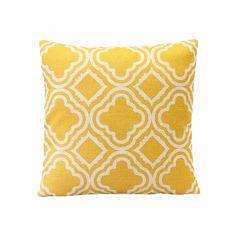 Toraway Estilo simple Argyle Pattern Lino almohada caso funda de cojin Home…