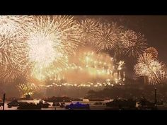 Stunning! Sydney (Australia) opens New Year 2015 celebrations with fireworks celebrate in Sydney for 2016!
