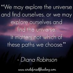 May everyone be allowed to find their own path.  https://www.facebook.com/circleforselfhealing