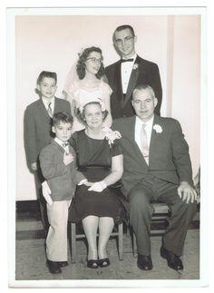 Prine Family at Pat and Dave Prine Wedding – 1957