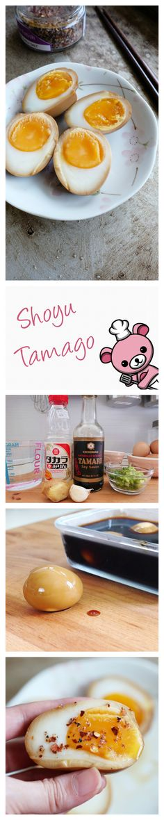 Pssst… let you in on a secret. Sometimes I order ramen just so I can eat the Shoyu Tamago (Japanese soy sauce eggs) that come with it. But it's actually very easy to make at home too! A soy sauce & mirin marinade seals in that umami flavor, and that molten, custard yolk?... oh my..