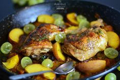 Maple Roast Chicken with Vegetables. A beautiful maple glazed chicken surrounded by colorful seasonal vegetables. Best Roasted Chicken, Roast Chicken, Maple Syrup Glaze, Maple Glazed Chicken, Chicken And Butternut Squash, Vegetable Seasoning, Dinner Options, Chicken And Vegetables, Grain Free