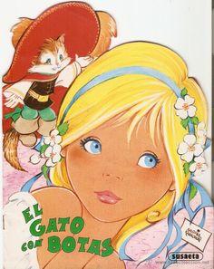 CUENTO TROQUELADO - EL GATO CON BOTAS - MARIA PASCUAL - SUSAETA EDICIONES - 1987 (Libros de Lance - Literatura Infantil y Juvenil - Cuentos)...