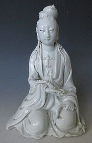 China Dehua Blanc de Chine Porcelana Kwan Yin