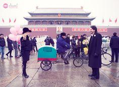 E-session in Tiananmen, Beijing.  sweetmarryme.wordpress.com